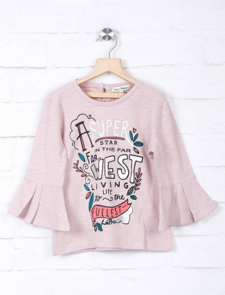 Leo N Babes girls pink casual top