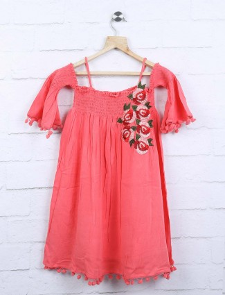 Leo N Babes peach hue cotton top