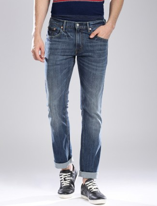 Levis blue denim jeans