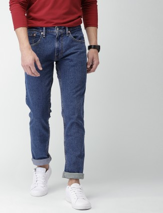 Levis blue hue slim fit jeans