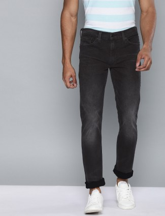 Levis dark navy denim 511 slim fit jeans