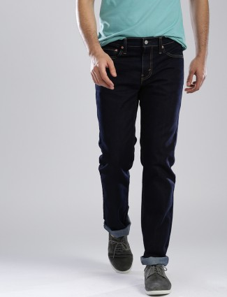 Levis navy denim jeans