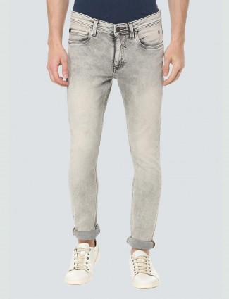 LP Sport washed grey casual jeans