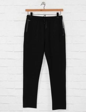 Maml cotton simple black track pant