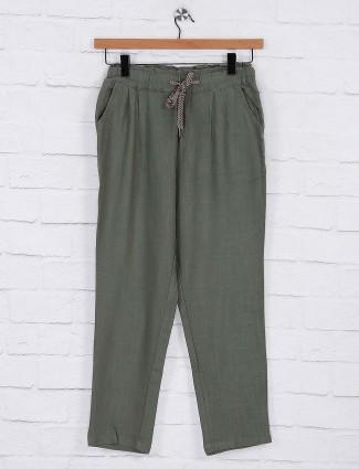 Mint green cotton pyjama
