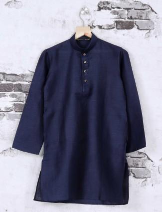 Navy festive wear kurta suit