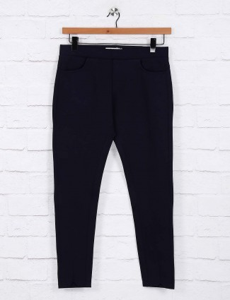 Navy hue comfort jeggings