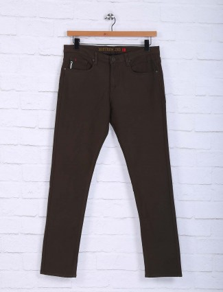 Nostrum brown hue trouser