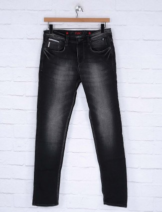 Nostrum denim black hued jeans