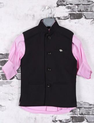 Party wear pink waistcoat