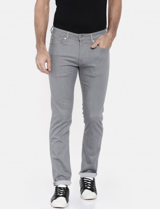 Pepe Jeans simple grey solid jeans