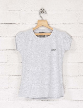 Pro Energy grey hue cap sleeves top