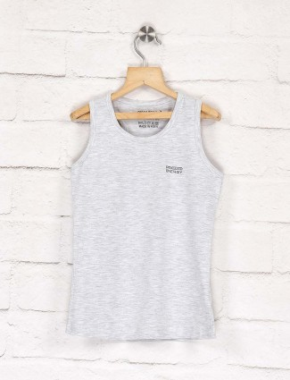 Pro Energy light grey cotton fabric top
