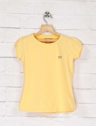 Pro Energy presented lemon yellow solid top