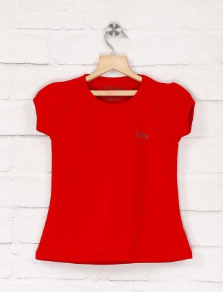 Pro Energy red color solid top