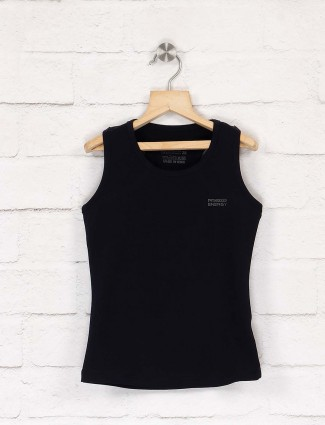 Pro Energy solid black hue top
