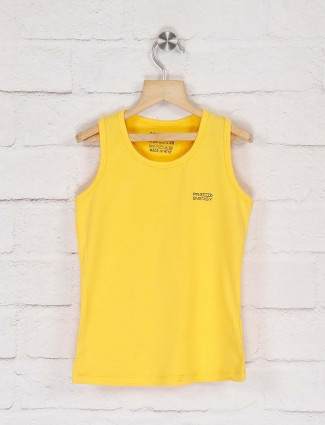Pro Energy yellow color solid top