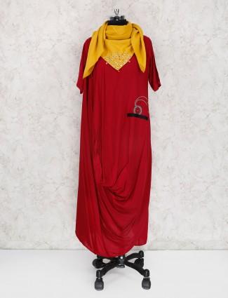 Red cotton fabric kurti