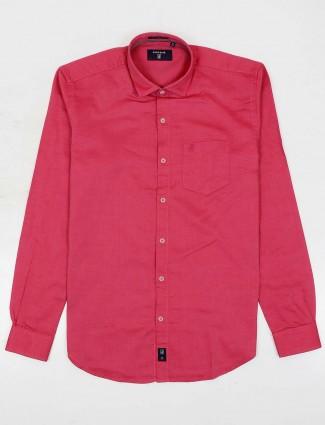 River Blue magenta patch pocket shirt