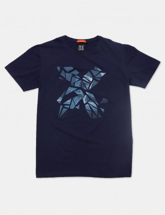 River Blue navy casual slim fit t-shirt