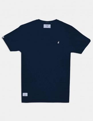 River Blue navy solid mens t-shirt