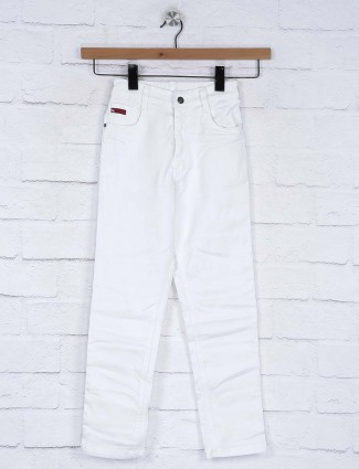 Ruff white hue solie denim jeans