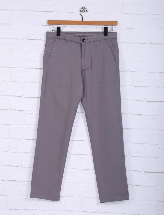 Sixth Element grey casual wear trouser