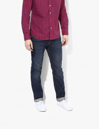 Levis navy casual wear plain denim jeans
