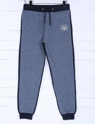 Status Quo blue hued night track pant