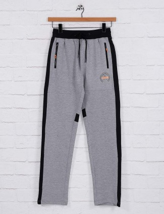 Status Quo solid grey hue track pant