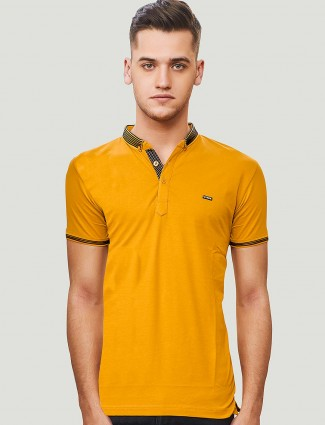 Stride mustard yellow colored casual t-shirt
