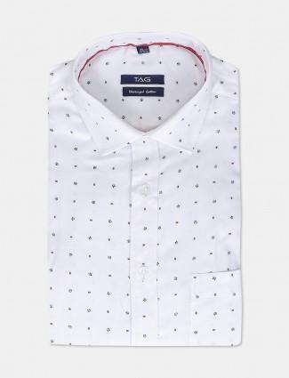 TAG printed printed full sleeves shirt