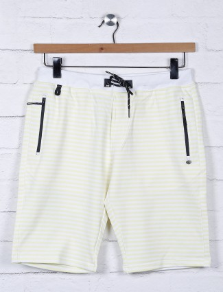 TYZ stripe yellow color cotton short