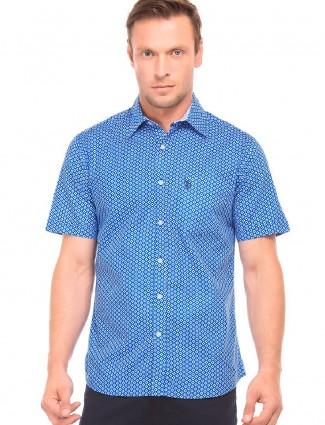 U S Polo blue color shirt