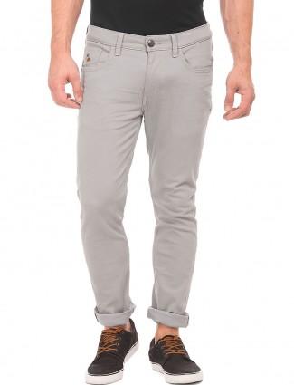 U S Polo grey simple denim jeans