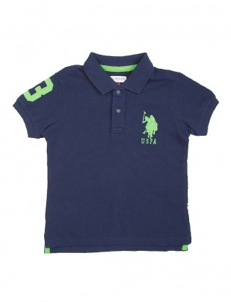 U S Polo navy color cotton t-shirt