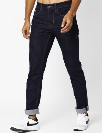 U S Polo navy denim casual wear jeans