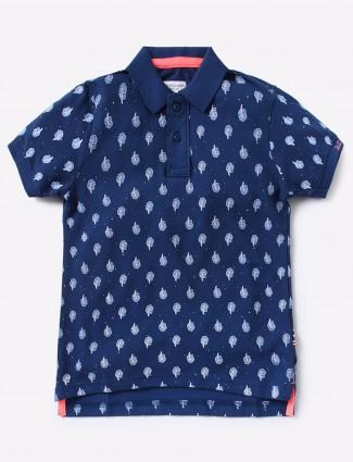 U S Polo navy hue simple t-shirt