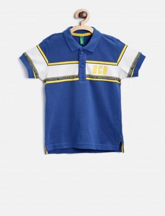 UCB blue boys t-shirt