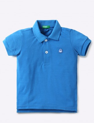 UCB royal blue color t-shirt