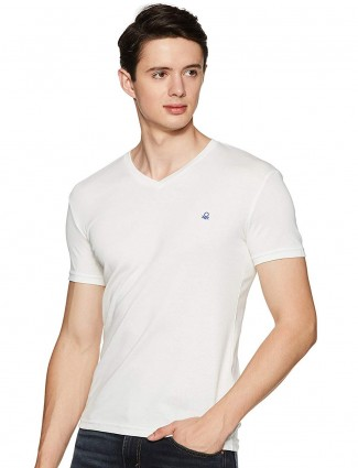 United Colors of Benetton white t-shirt