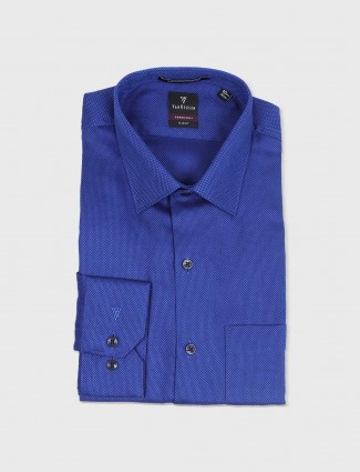 Van Heusen royal blue formal shirt