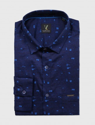 Van Heusen royal blue shirt