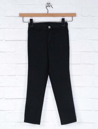 Vitamins black color denim casual jeans