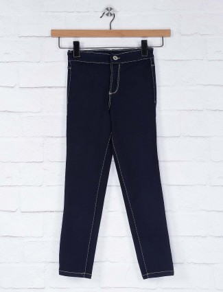 Vitamins navy blue denim casual wear jeans