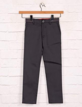 Zillian dark boys cotton trouser