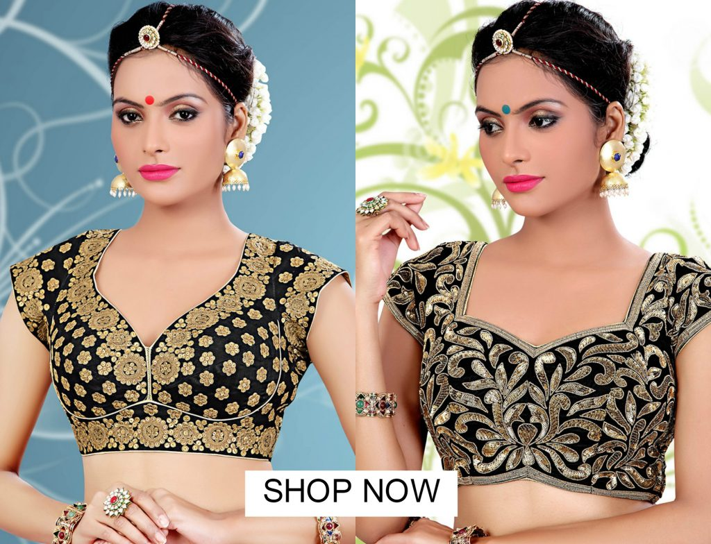 7 Latest Designer Blouse Necklines For Wedding Party Reception
