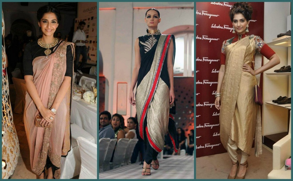 4 Fancy Saree Draping Styles From Top Fashion Designers