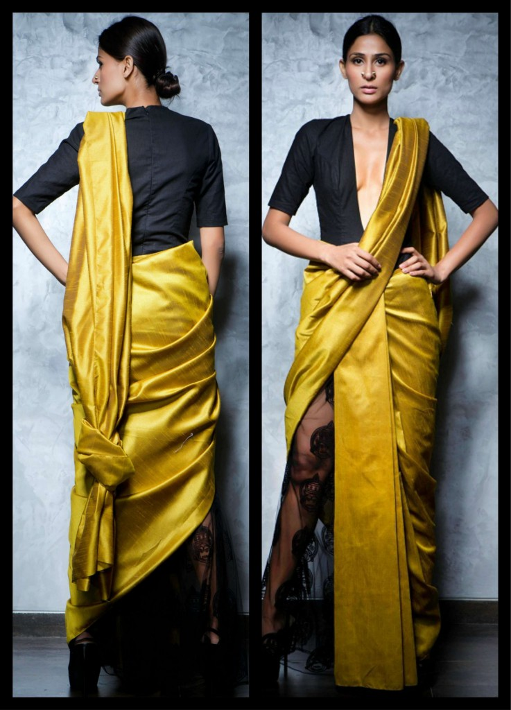 How To Wear Designer Saree Dhoti Saree Pant Style Saree