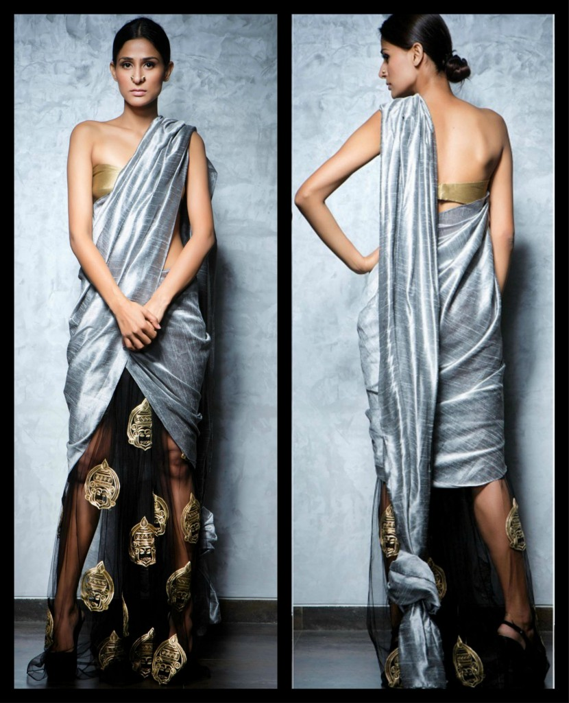 How To Wear Designer Saree